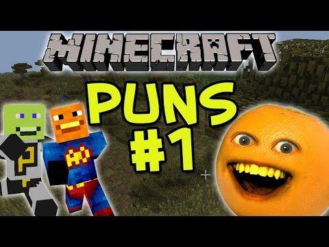 Annoying Orange Minecraft Puns 1 Annoying Orange Puns Sanic Memes