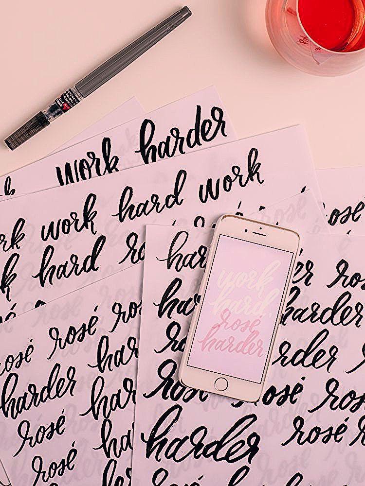 Photo of jojotastic // a little extra grace // work hard, rosé harder download