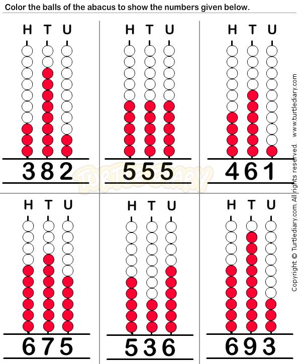 Abacus9 Math Worksheets Preschool Worksheets Counting