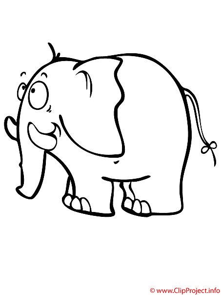 Malvorlage Elefant Mit Luftballon