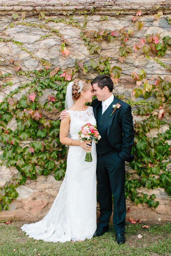 Hayley And Brad S Modern Rustic Wedding