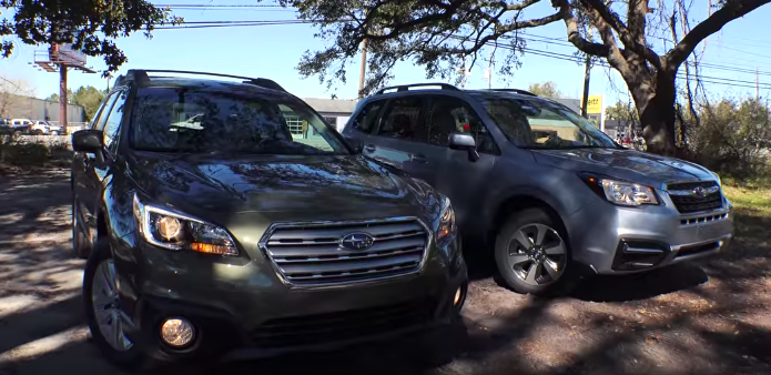 Ultimate Comparison 2017 Subaru Outback Vs Forester Http Www Dchsubaruofriverside