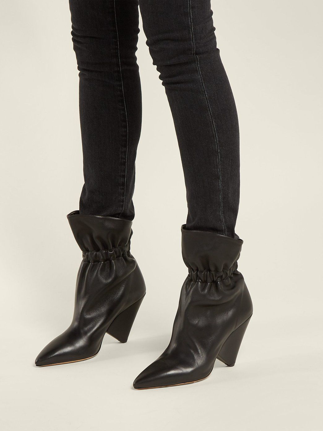 6e96b85aa28 Lileas leather ankle boots | Isabel Marant | MATCHESFASHION.COM UK ...