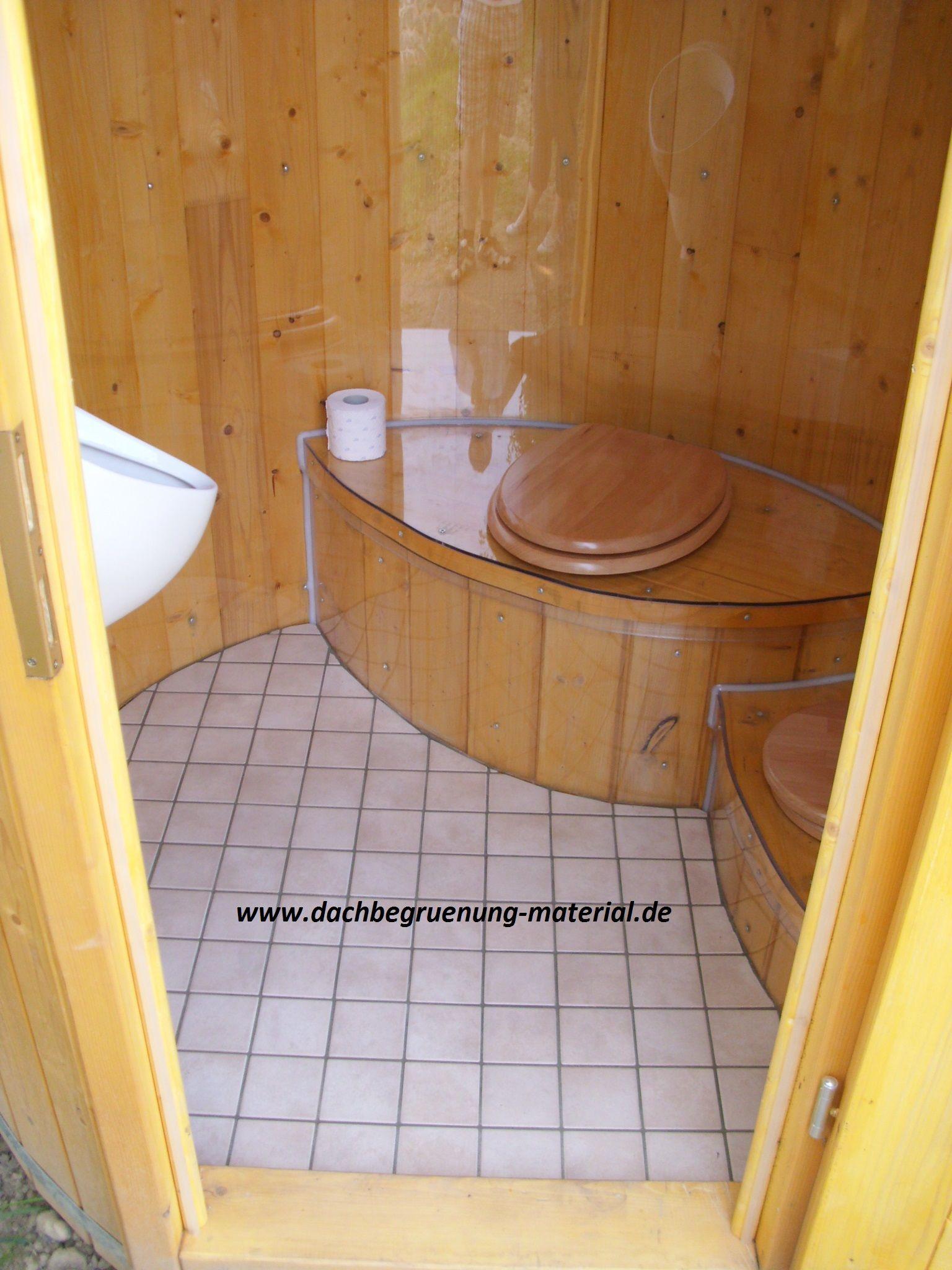 Marvelous Fasssauna u Garten WC bei dachbegruenung material de