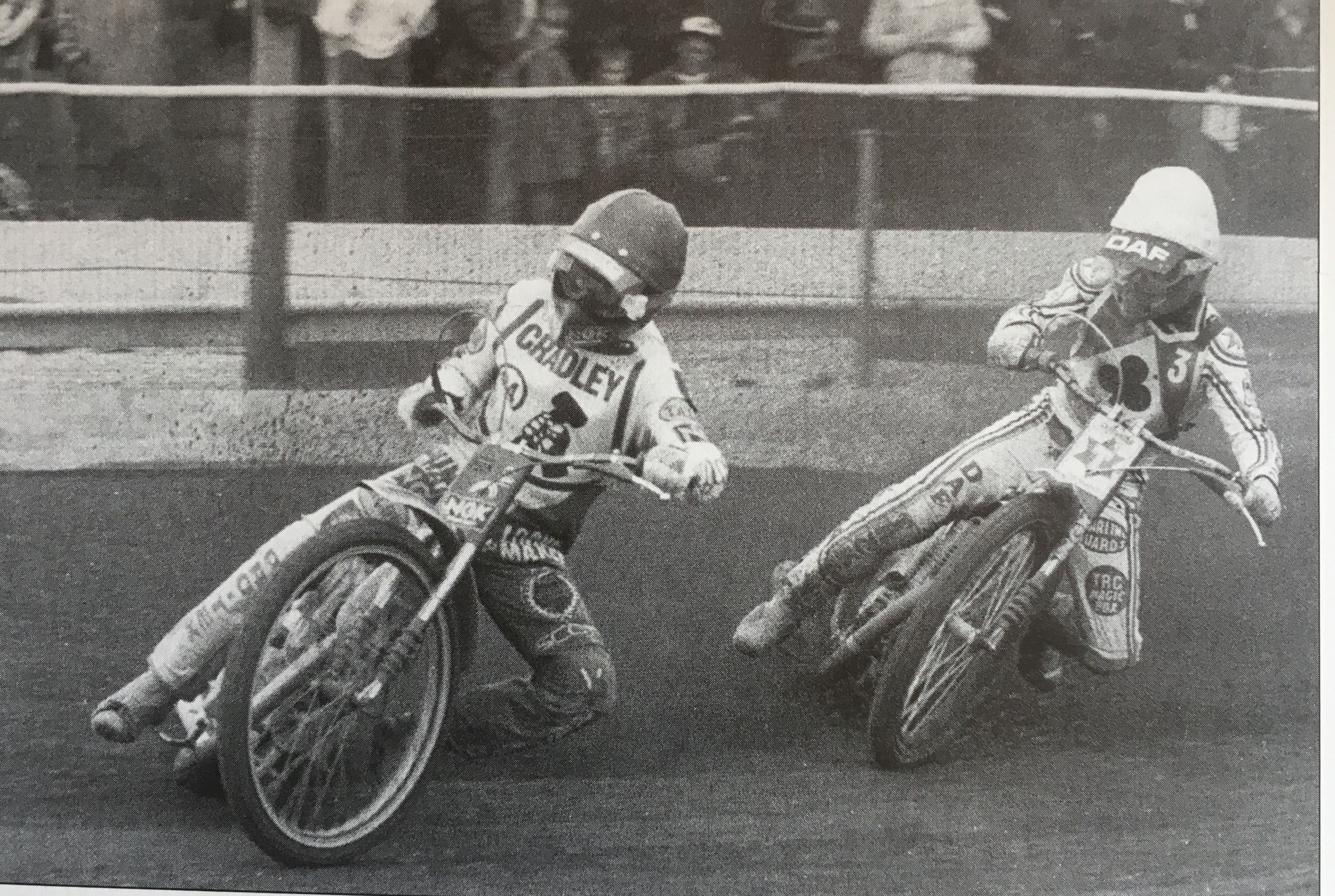 1982 John Cook IMS 8 X 10 Speedway Motorcycle Photo