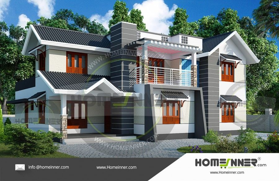 3000 Sq Ft 4 Bhk Modern House Elevation Architectural House Plans Kerala House Design House Design