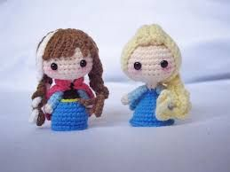 Amigurumi Crochet Personajes : Resultado de imagen para personajes de frozen a crochet tejer