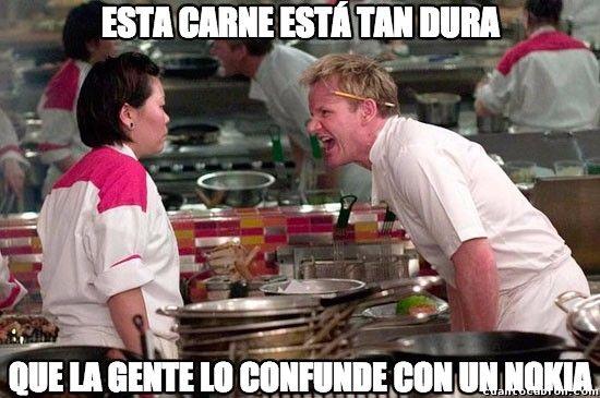 La carne más dura        Gracias a http://www.cuantocabron.com/   Si quieres leer la noticia completa visita: http://www.estoy-aburrido.com/la-carne-mas-dura/