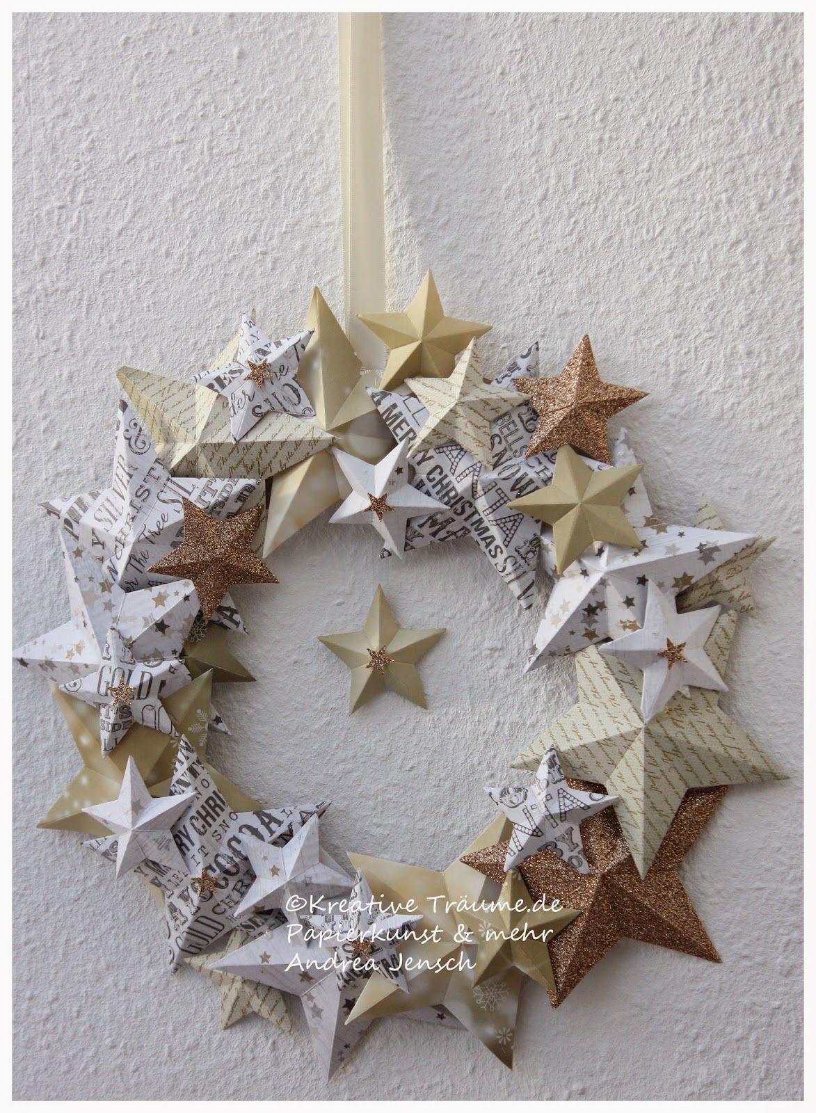 Kreative Traume Papierkunst Mehr Meine Weihnachtsdeko