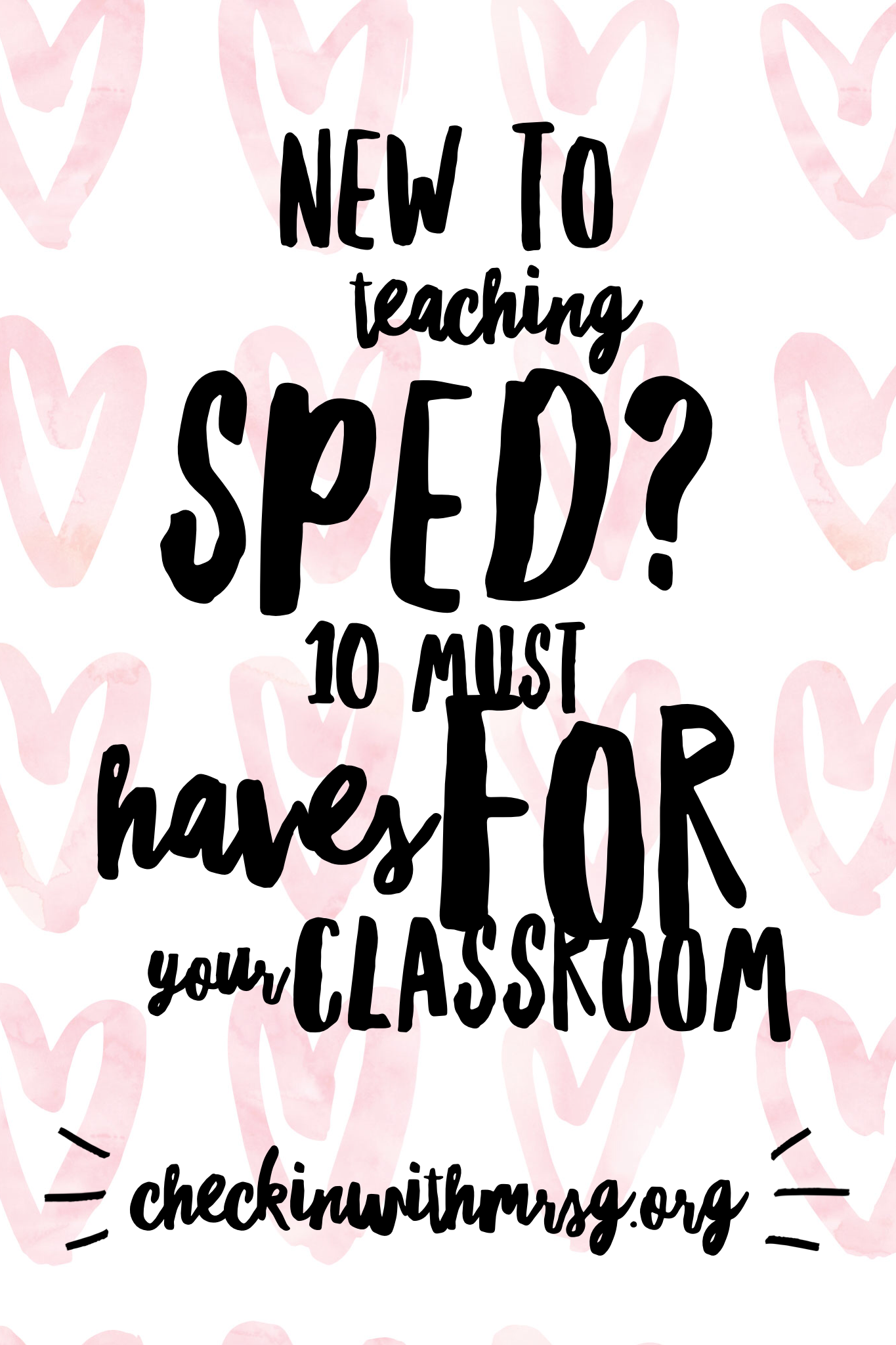Special education classroom setup A supply list of 10 must have products for teaching sped and suggestions on how to use them