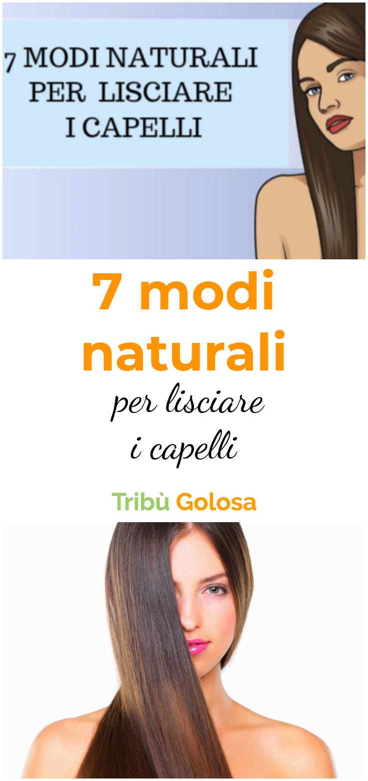 7 modi naturali per lisciare i capelli