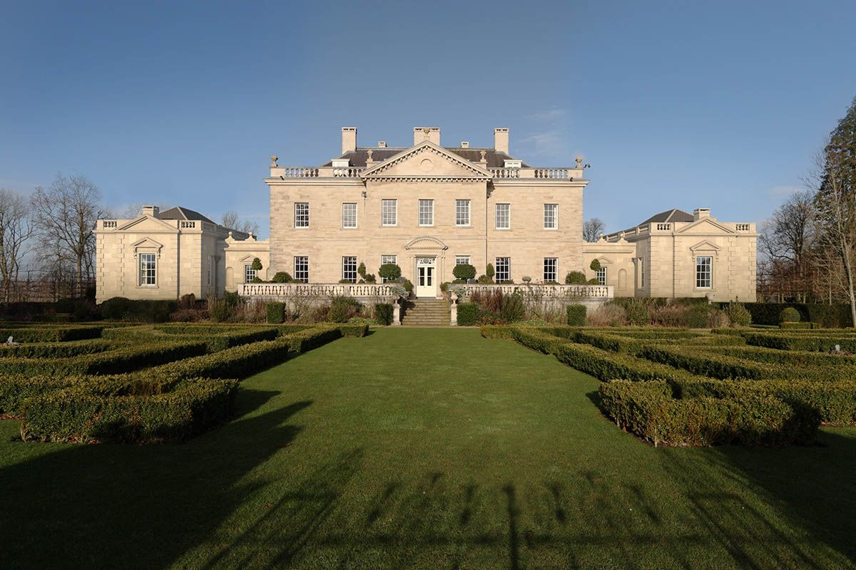 Ferne Park. Built for Viscount Rothermere 2001. Architect Quinlan Terry