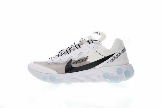23b7c6e429bb Undercover X Nike Upcoming React Elet 87 Aq1813 338 Blue White Men Shoes  Casual Sneakers Sneaker