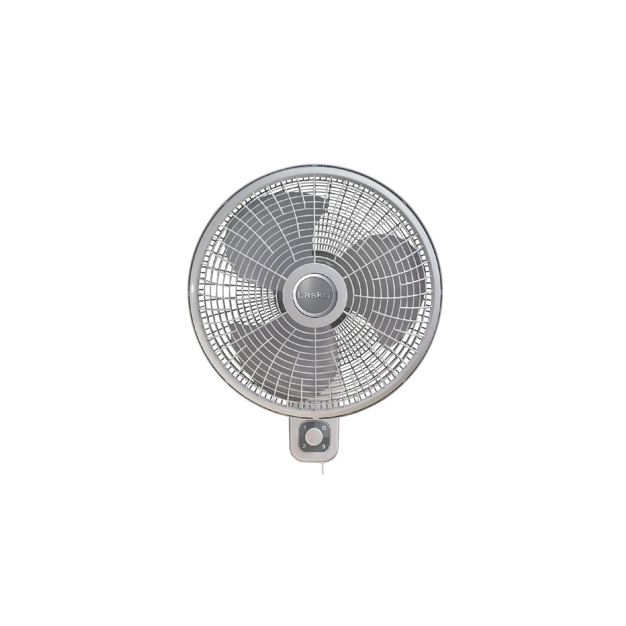 Lasko M16900 16 In 3 Speed Oscillating Cooling Wall Mount Fan W