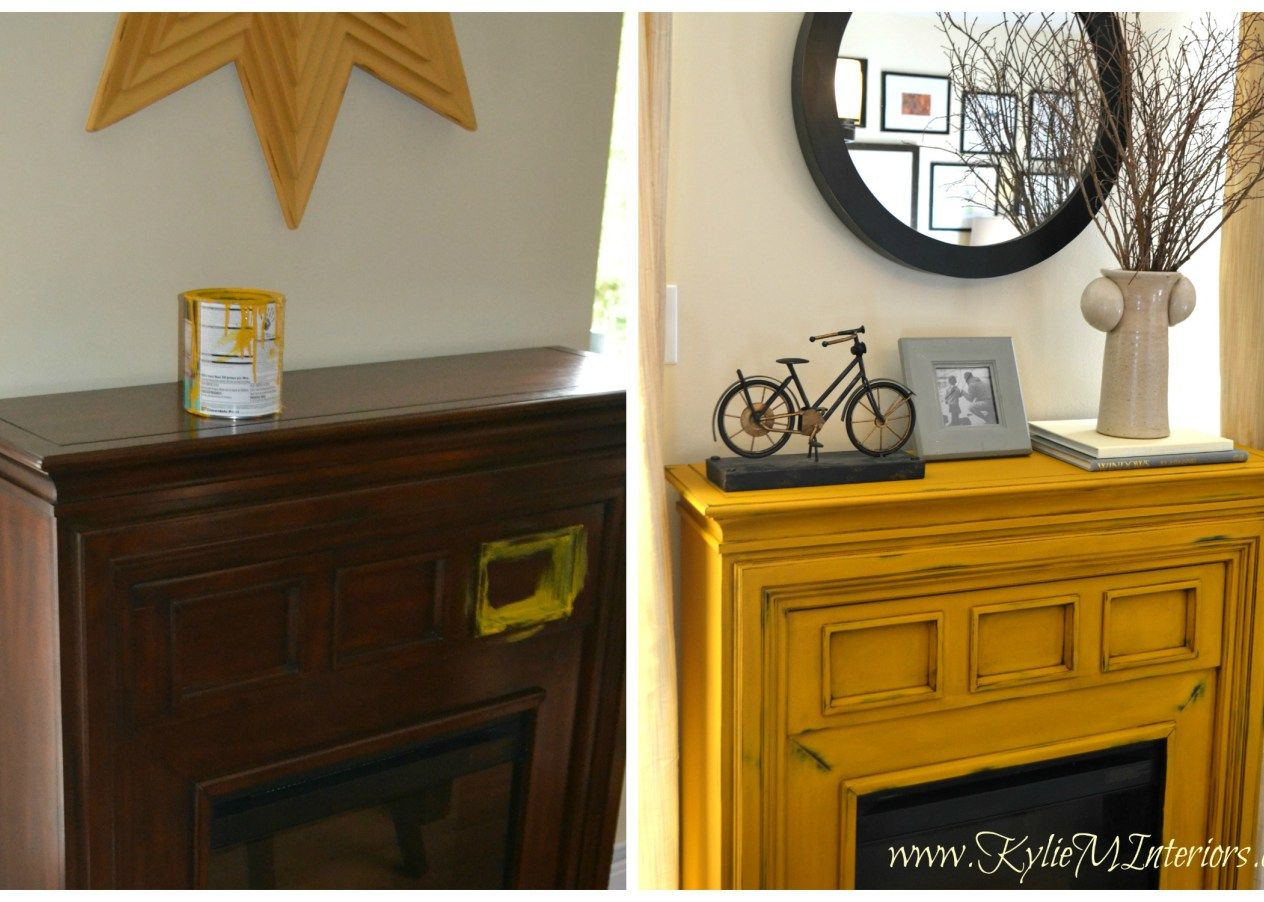 Painted Furniture Ideas Van Gogh Chalk Paint Yellow