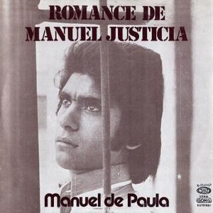 """Manuel de Paula: """"Romance de Manuel Justicia"""" (1976)"""