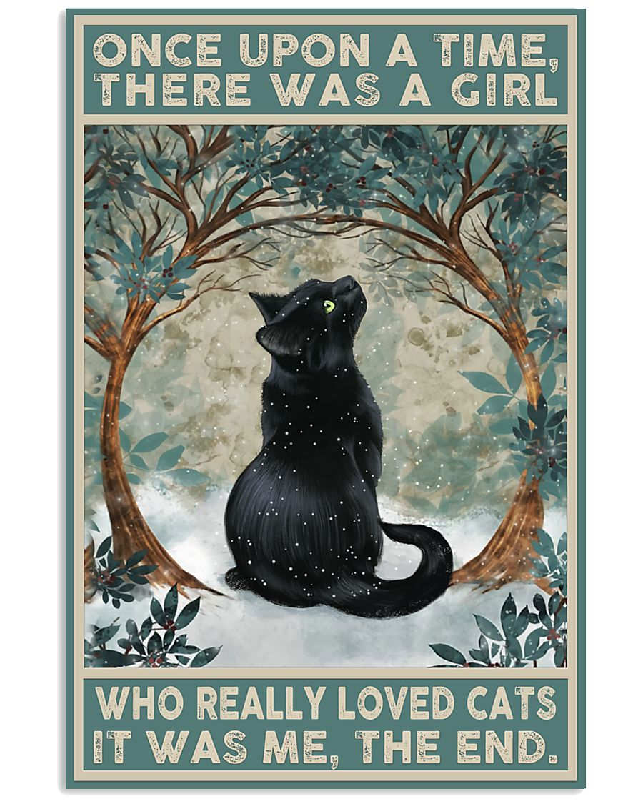 Black Cat Once Upon A Time Poster 11x17 Poster - {