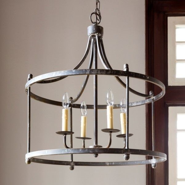 Savannah Large Iron Pendant Finished Canopy Park Hill