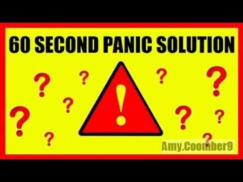 If you are suffering from panic attacks, then definitely check this out!