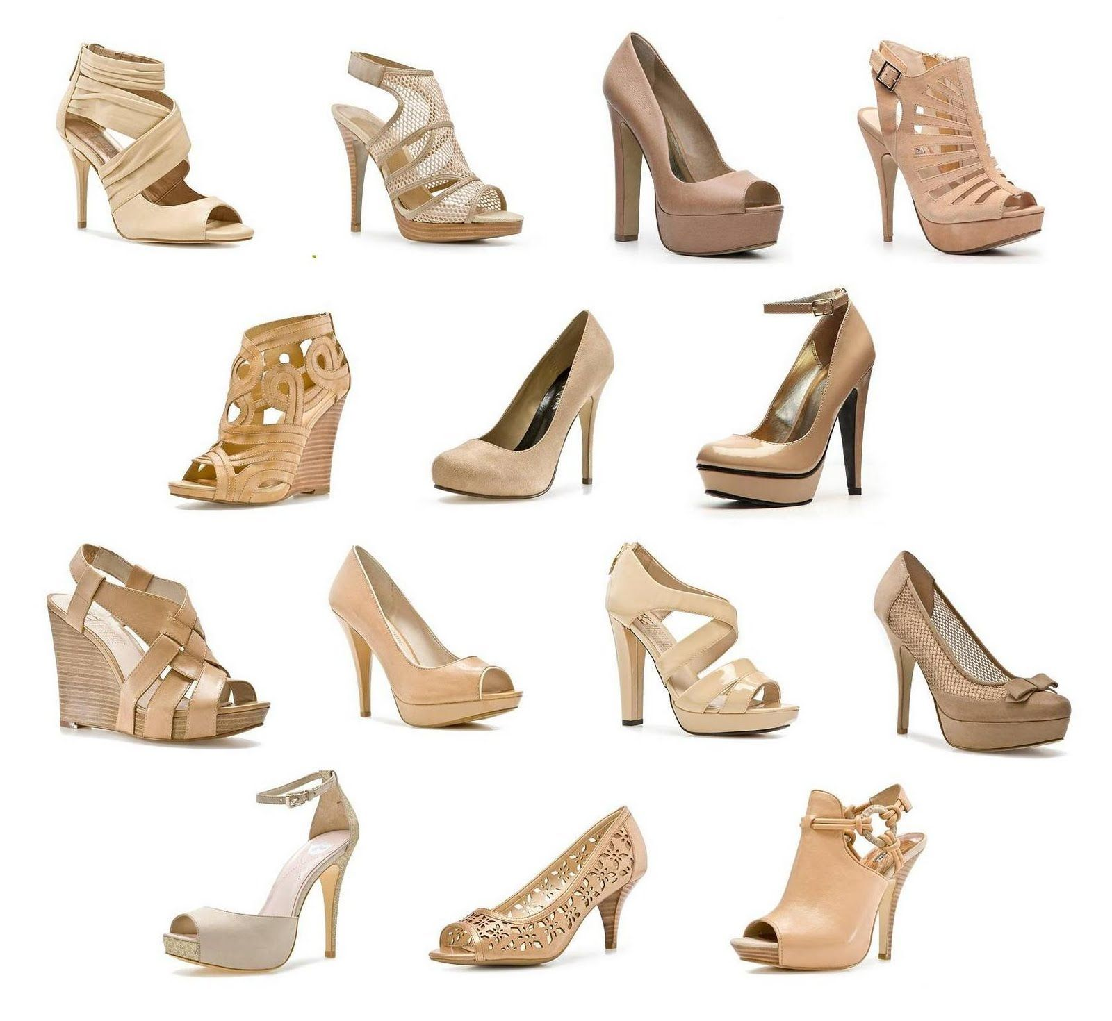 Nude Shoes Style I LOVE Pinterest