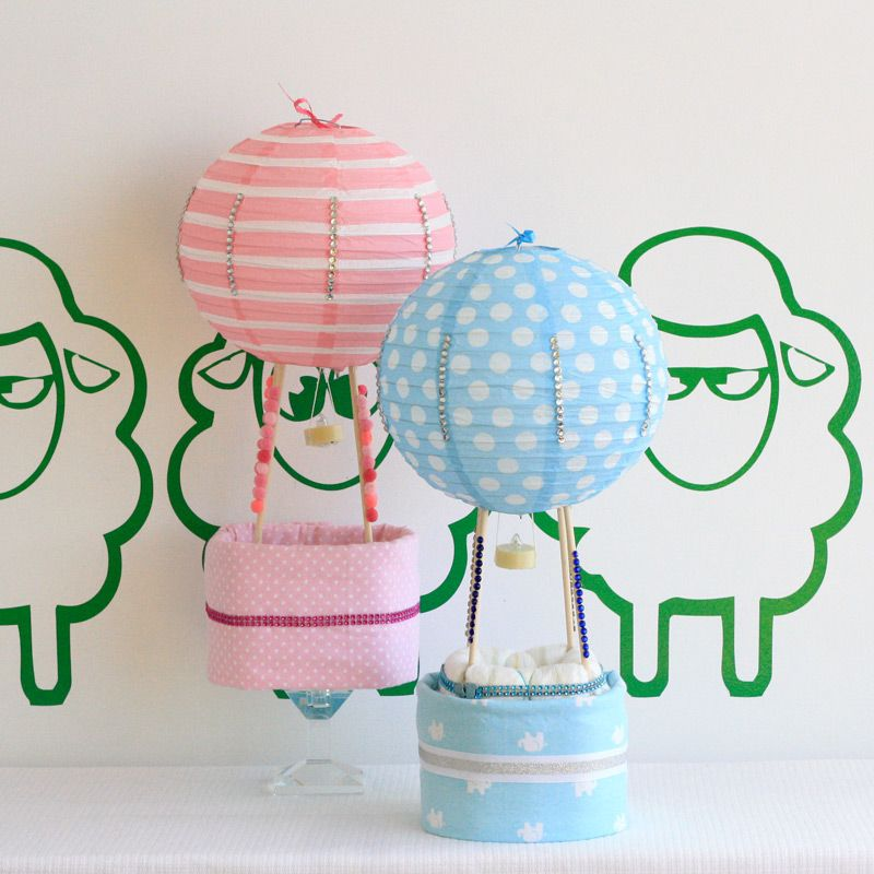 ThinkChic-Hot Air Balloons gifts for baby shower