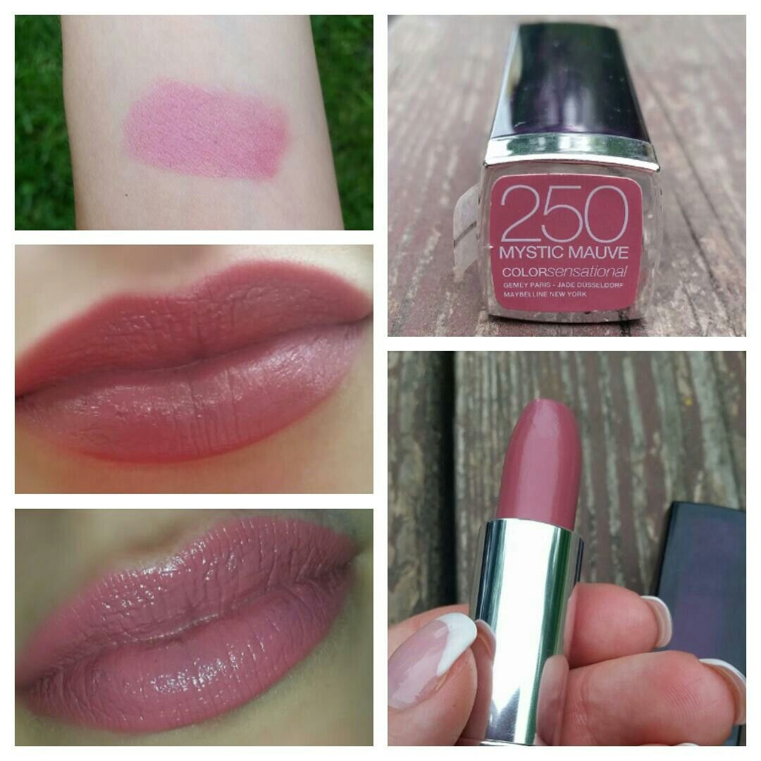 MAYBELLINE COLORsensational 250 MYSTIC MAUVE Lipsticks