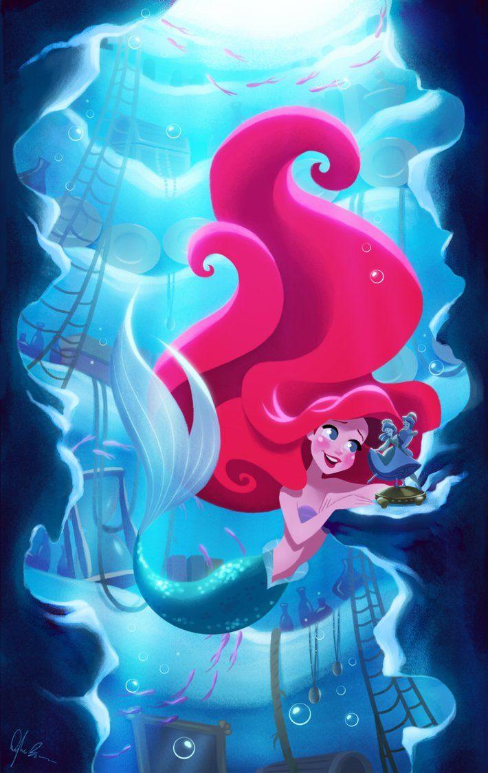 La Sirenita Disney Princesas Disney Ariel De Disney Y Princesa Ariel Disney