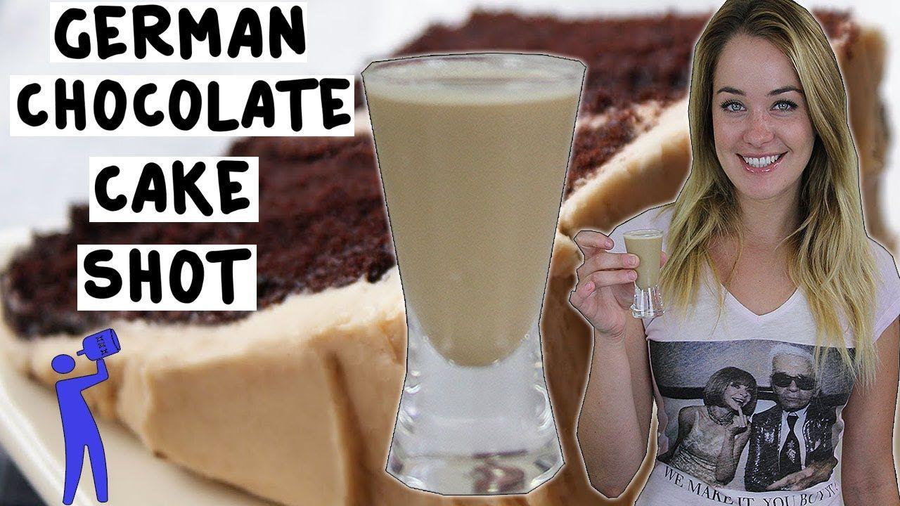 German Chocolate Cake Shot Tipsy Bartender