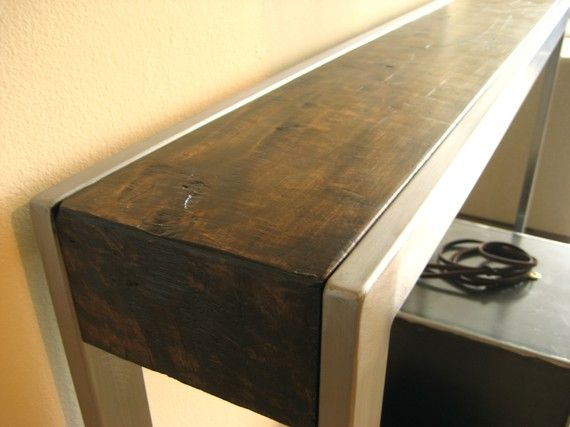 Alonso Hall Table -by modernindustry