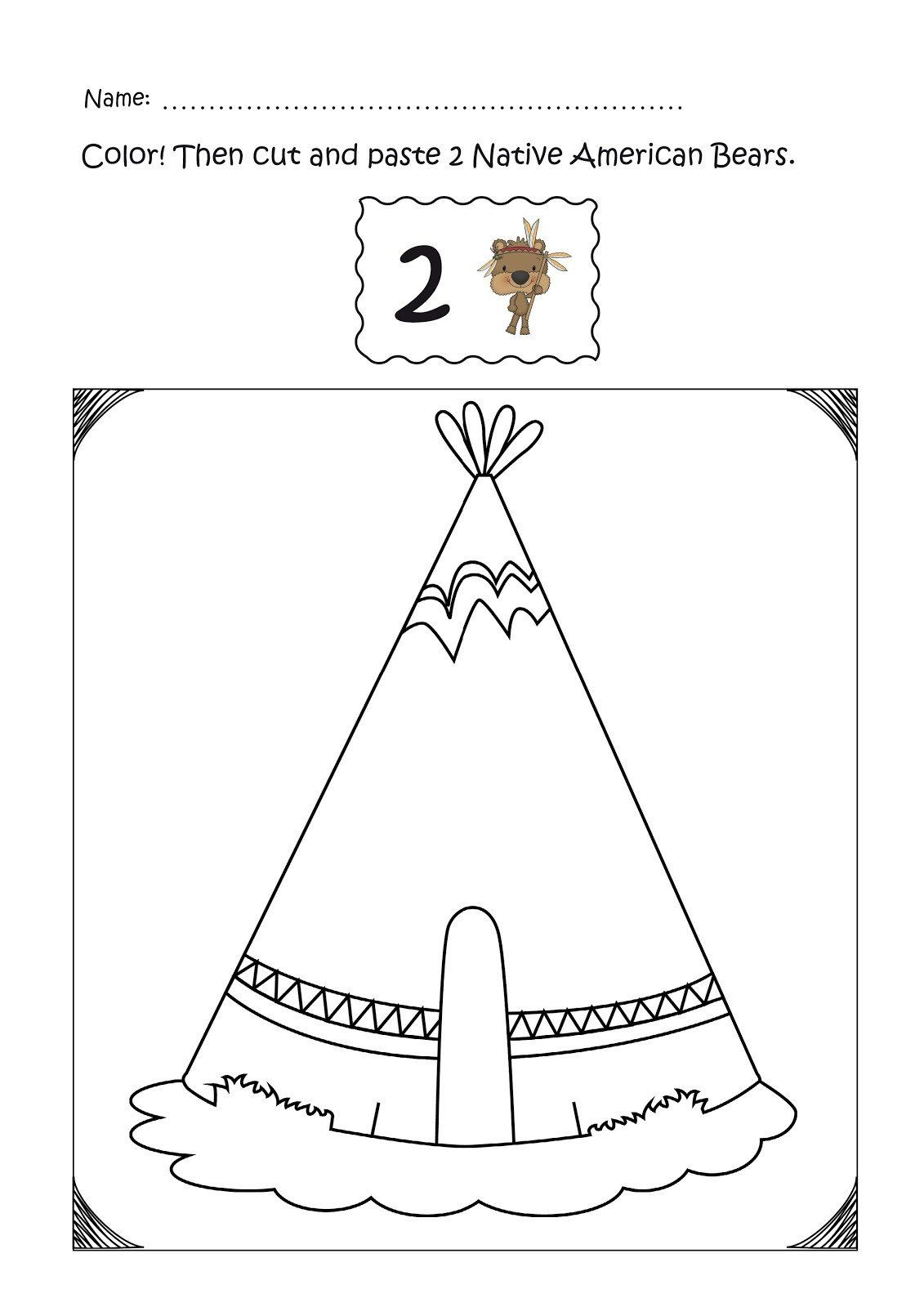 Native American Math Worksheets Worksheet Science Review