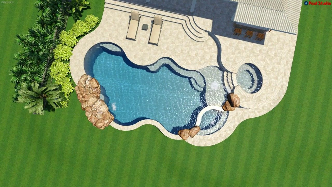 pool studio 3d swimming pool design software designed and created by american beauty pools