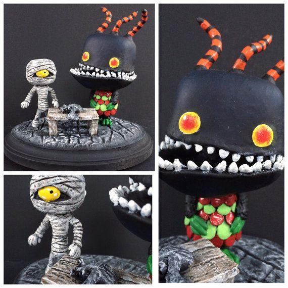 Custom Funko Pop! Nightmare Before Christmas Harlequin Demon and ...