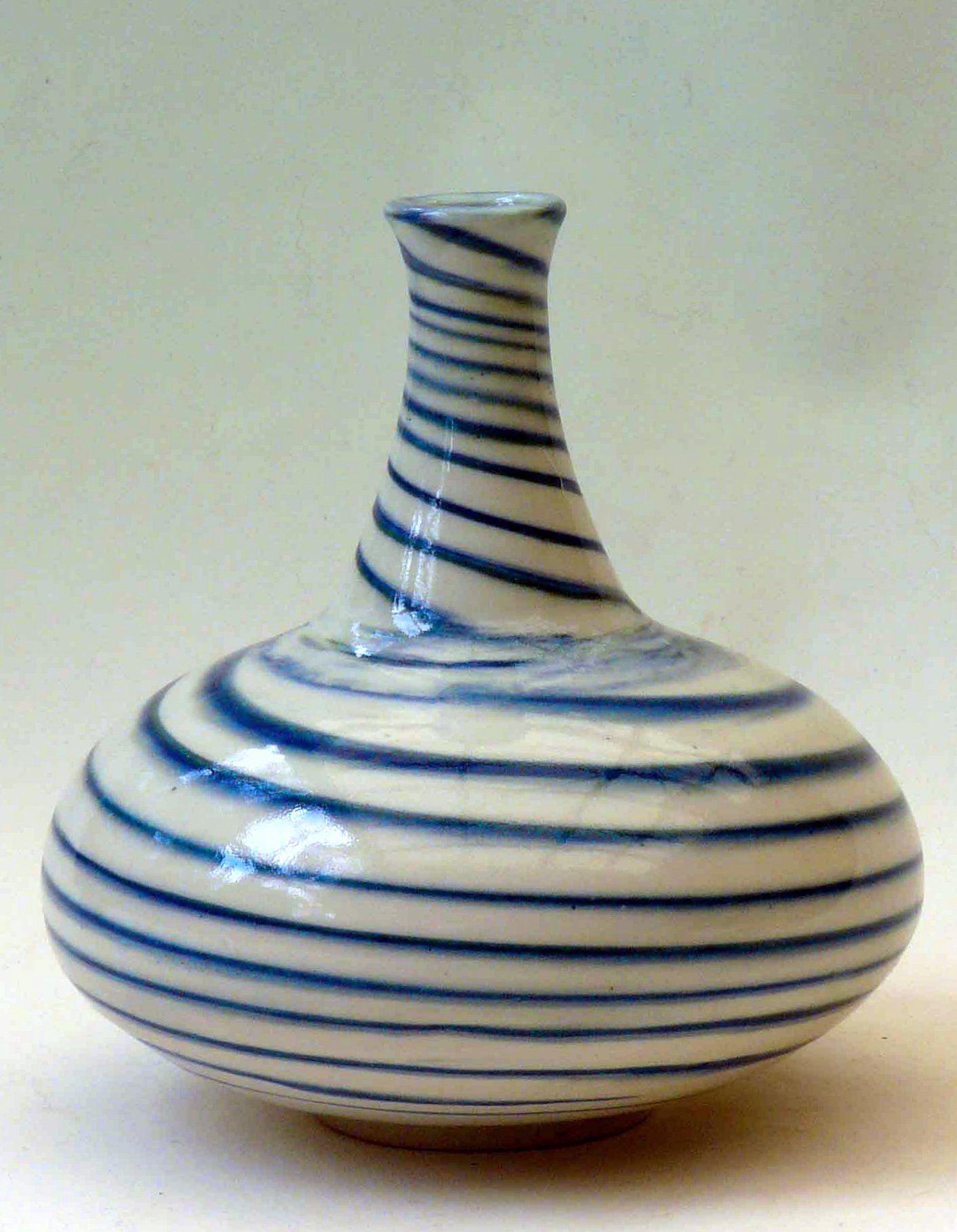 M wein mishima inlaid colors porcelain vase ceramica for Menaje cocina japonesa