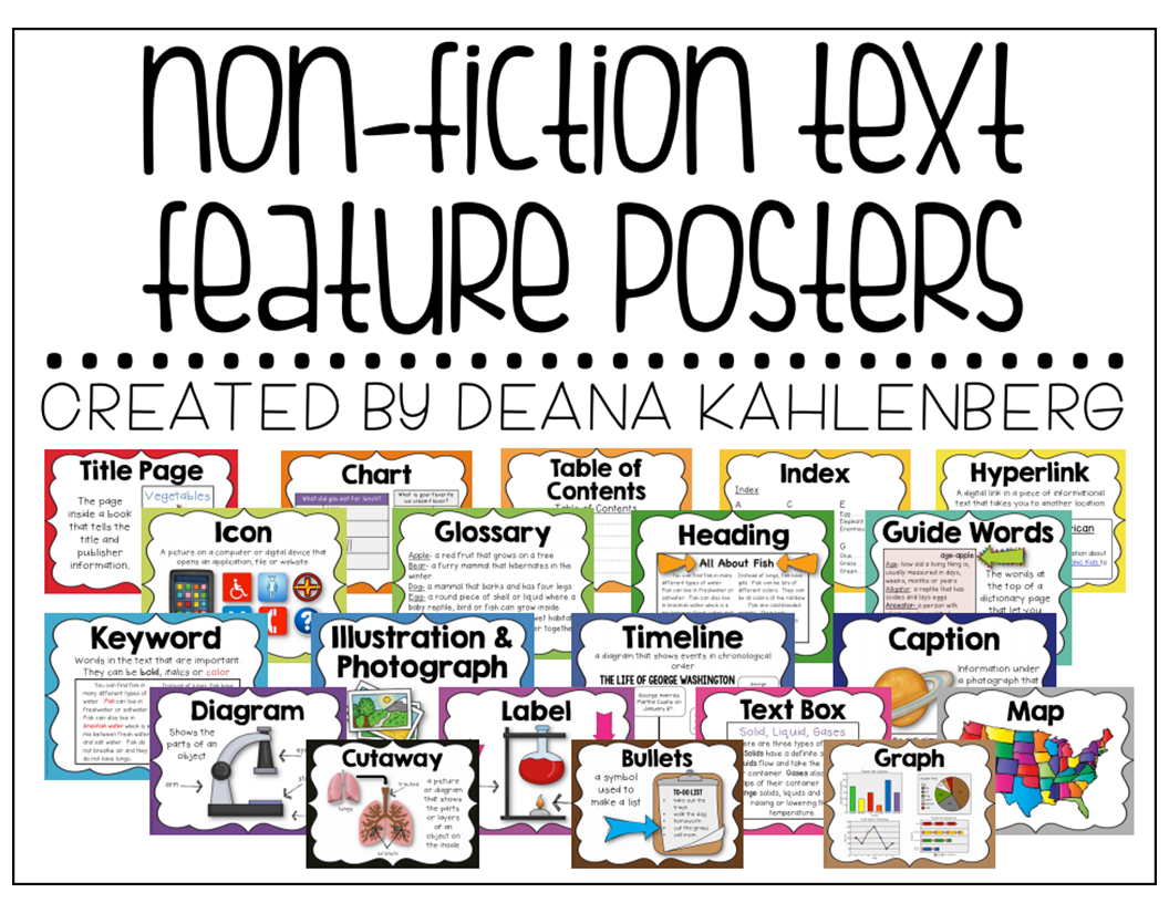 Fiction Vs Nonfiction Teaching Ideas