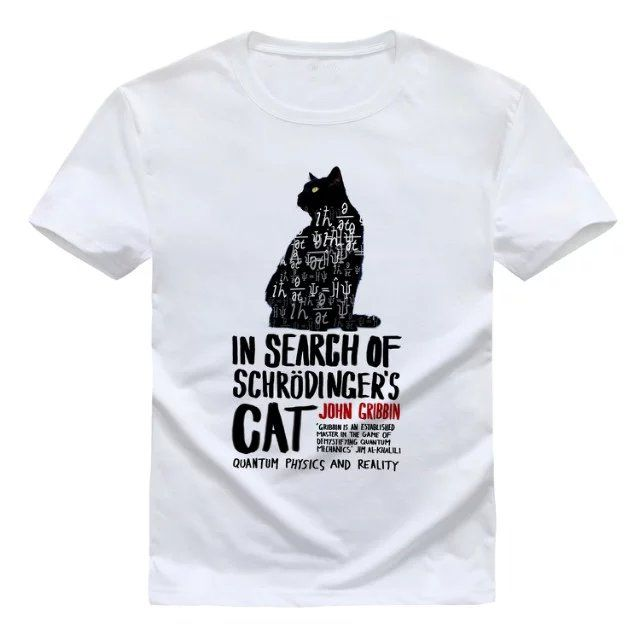 In Search Of Schrodinger S Cat T Shirt Men Price 24 00 Free