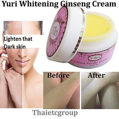 awesome YURI Whitening body cream Ginseng Skin Lightening Body Face Cream 30g - For Sale Check more at http://shipperscentral.com/wp/product/yuri-whitening-body-cream-ginseng-skin-lightening-body-face-cream-30g-for-sale/