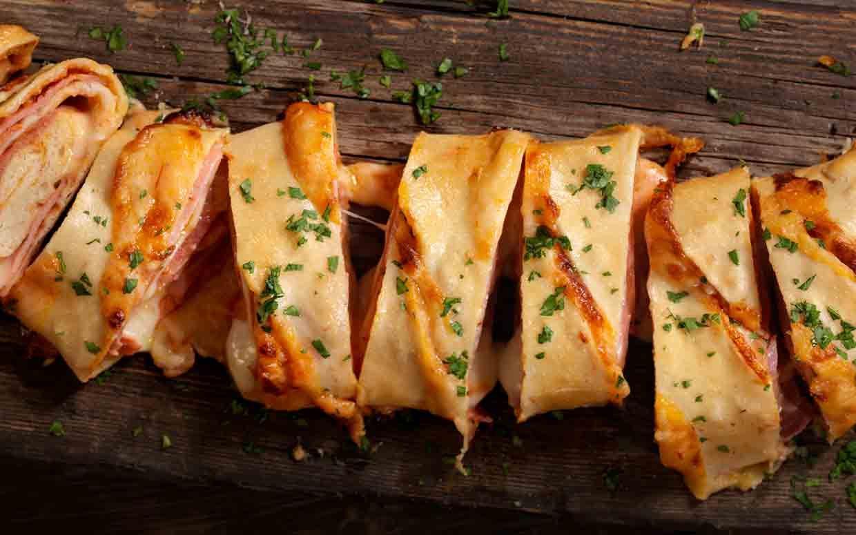 Bologna Stromboli | Recipe | Stromboli, Food, Bologna