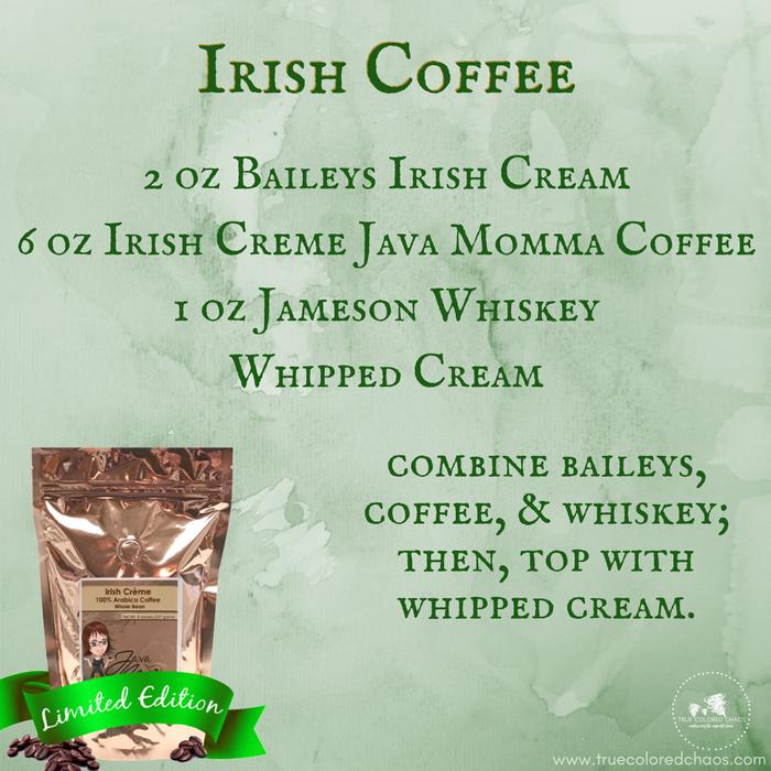How to make an Irish Coffee #graphic #stpatricksday #javamomma ... #irishCoffee