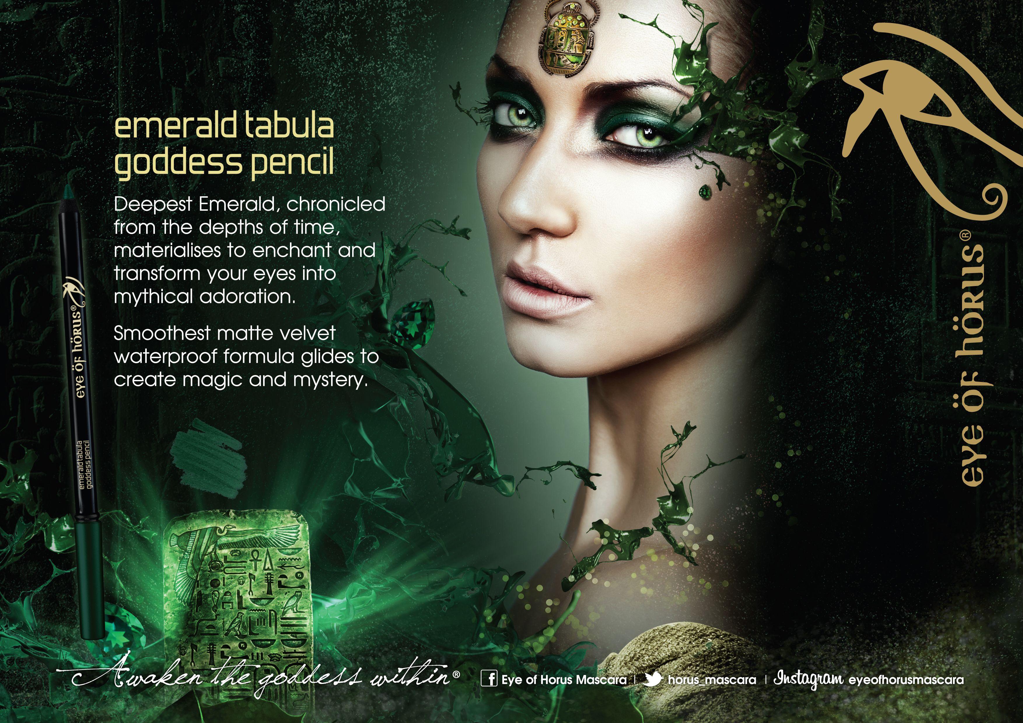Emerald Eye Pencil Makeup Eye pencil makeup, Egyptian