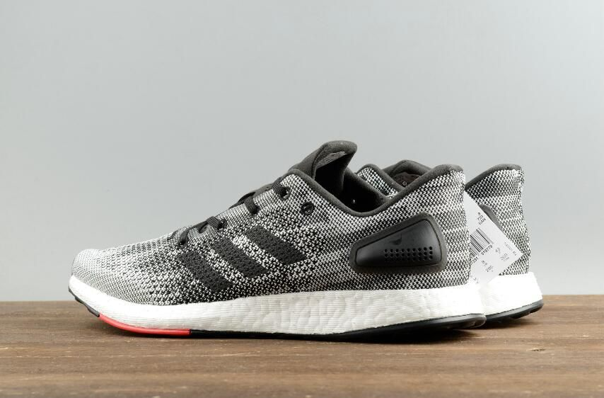 a9dde8fa1ff3d Authentic Adidas Pure BOOST DPR Leisure Running Mens Shoes S80993 Grey Red   40-45