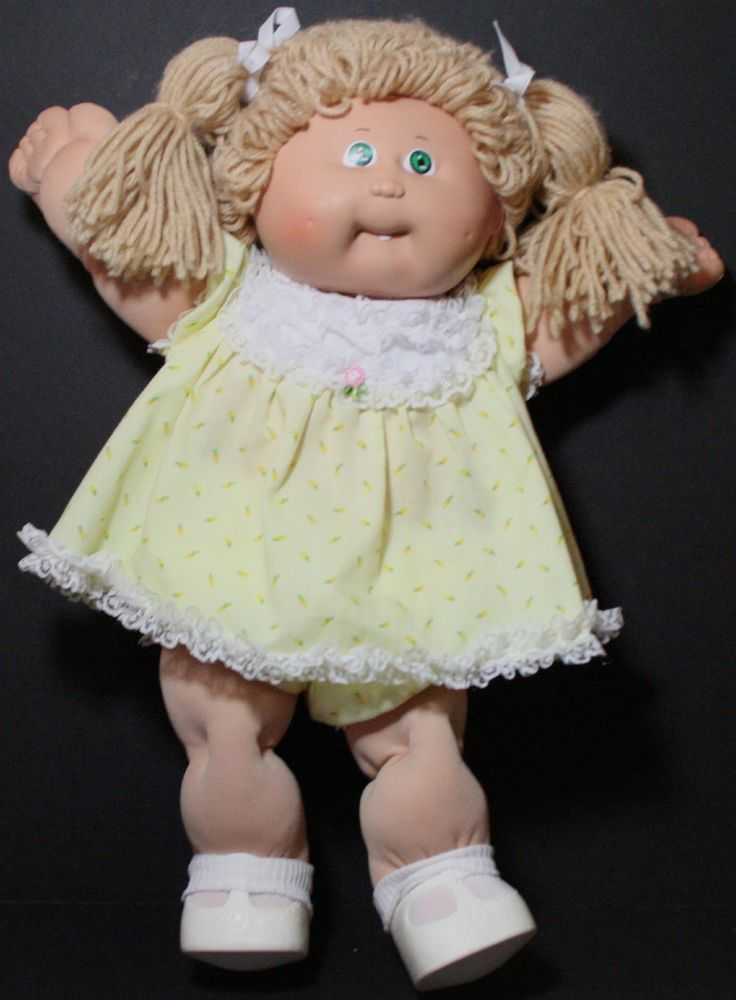 Us 29 95 Used In Dolls Bears Dolls By Brand Company Character Vintage Cabbage Patch Dolls Cabbage Patch Dolls Cabbage Patch Kids