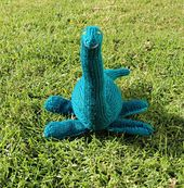 Plesiosaur knitting pattern! coolest thing i've ever seen.