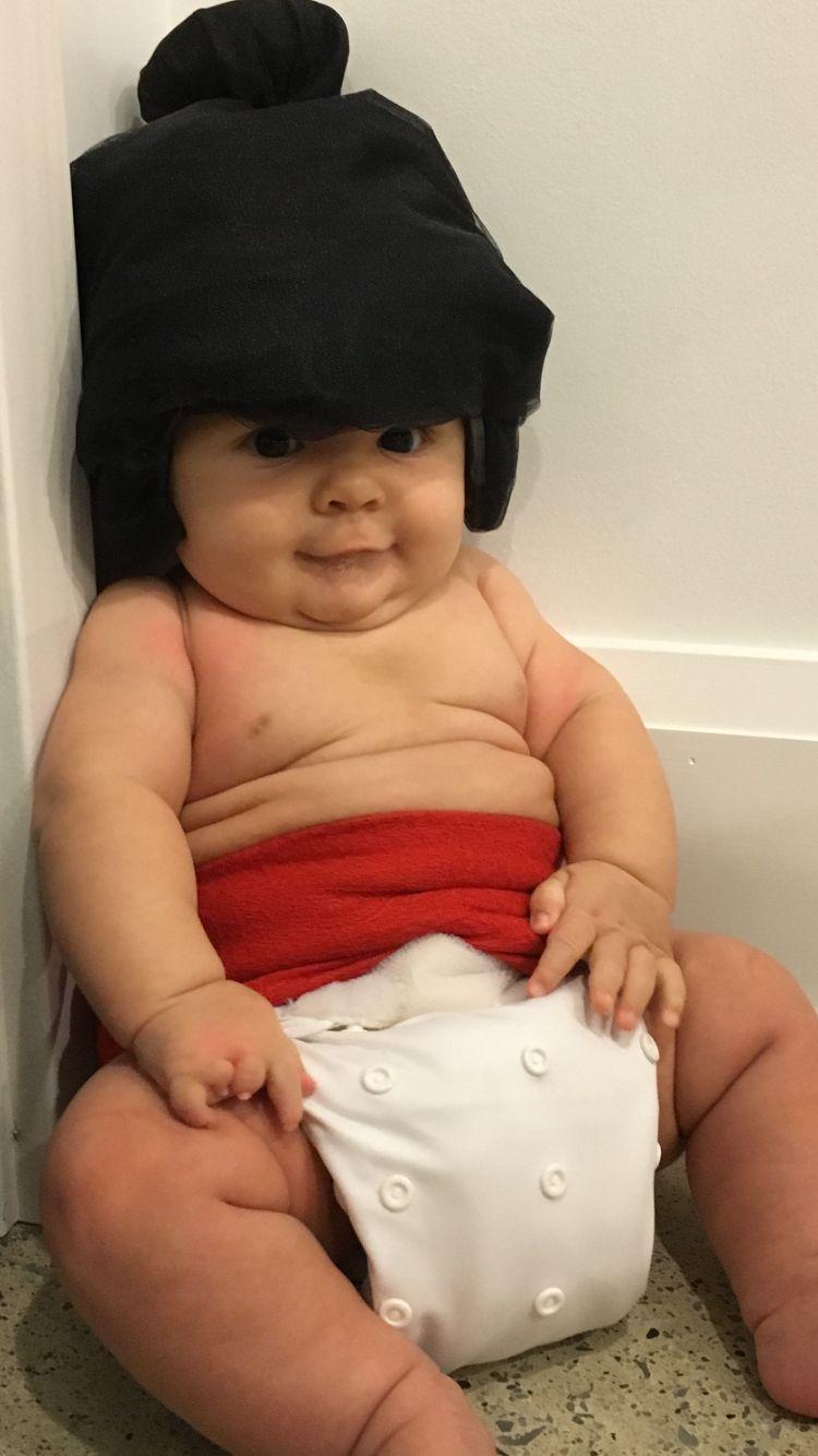 Baby Sumo Wrestler Costume  Kids In 2019  Sumo Wrestler -9114