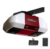 Liftmaster 8550wlb Dc Battery Backup Belt Drive Wi Fi Garage Door Opener Liftmaster Garage Door Opener Garage Door Opener Remote