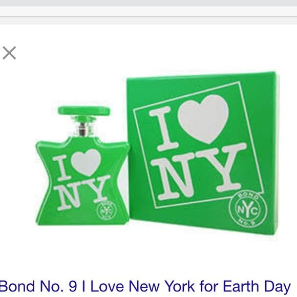 Bond  No 9 •I NY• For Earth Day *SAMPLE SIZES Items for sale are 2 sample vials (.05 fl oz) in photos 3 & 4 *BRAND NEW*  Easy to wear. Easy to love. A lush green floral w/an intoxicating heart of tuberose & a rich, woody base Bond No 9 Other