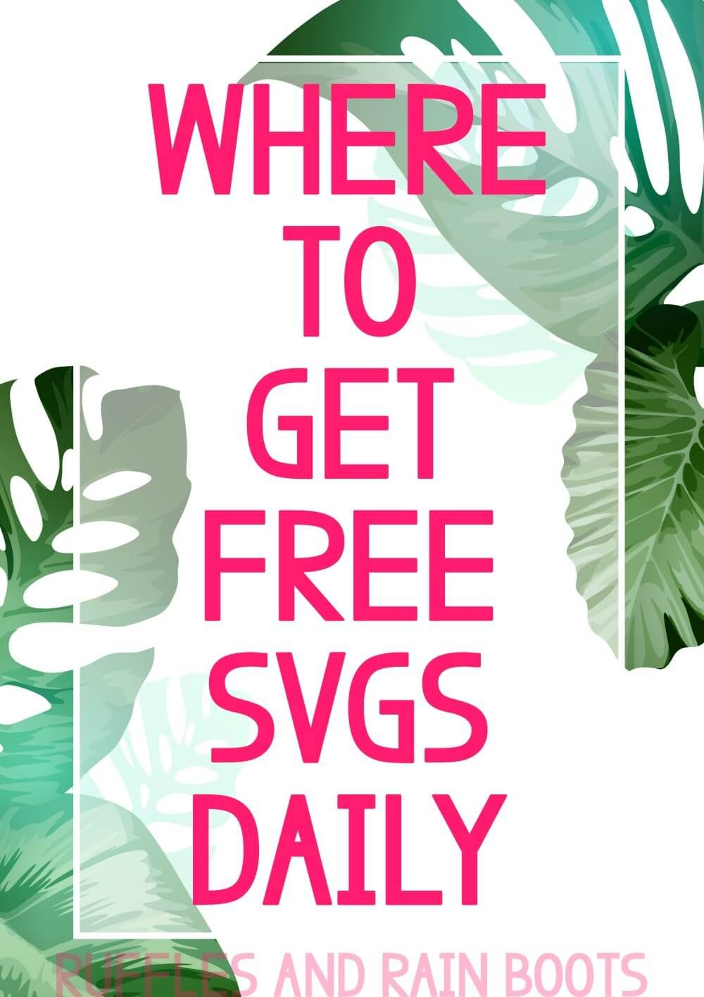 Download Where to Get Free SVGs Every Day! | Cricut svg files free ...