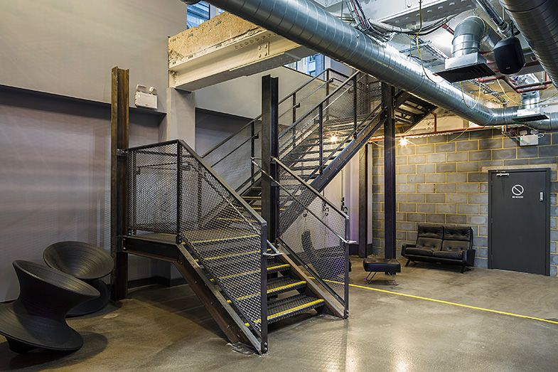 1rebel Boutique Gym Studio C102 Industrial Staircase Design Gym Design Interior Industrial Staircase Design Gym Design