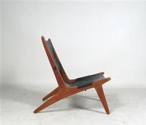 Lauritz.com - Möbler - Uno & Östen Kristiansson, Hunting Chair for Luxus Vittsjö Denna auktion är annullerad - se nu vara #1750829 - DE, Düsseldorf, Kappeler Straße