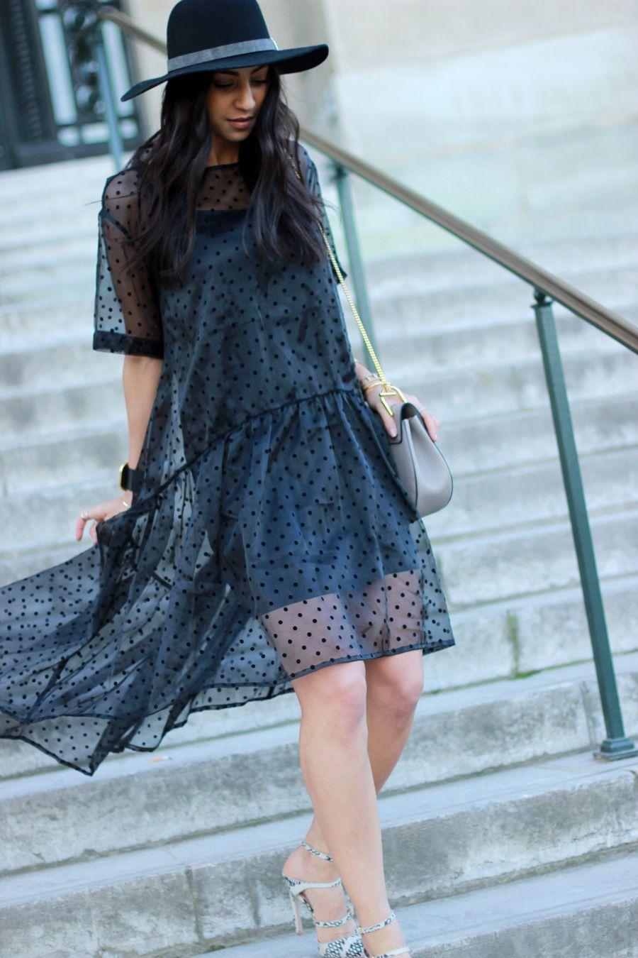 Sheer black dress not your standard style pinterest sheer