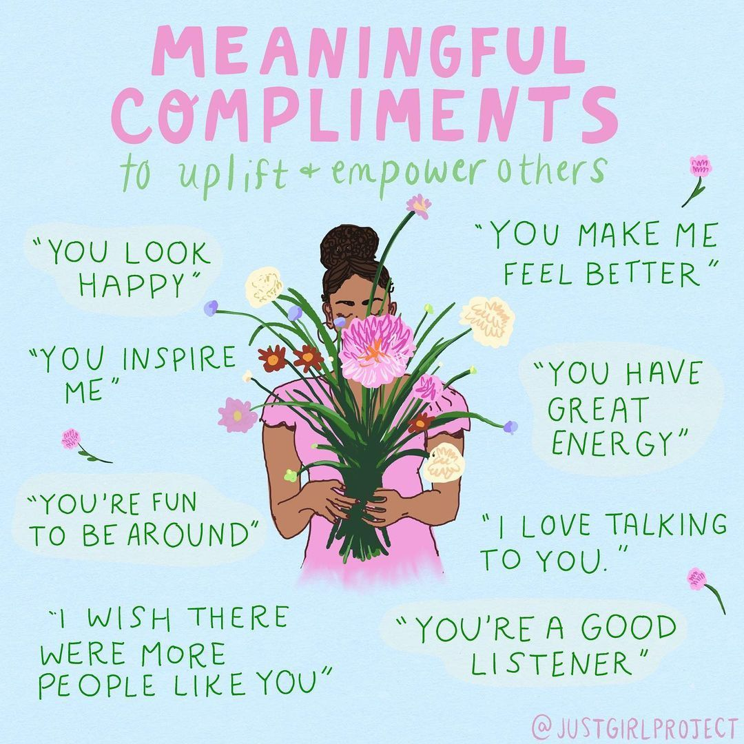Meaningful compliments